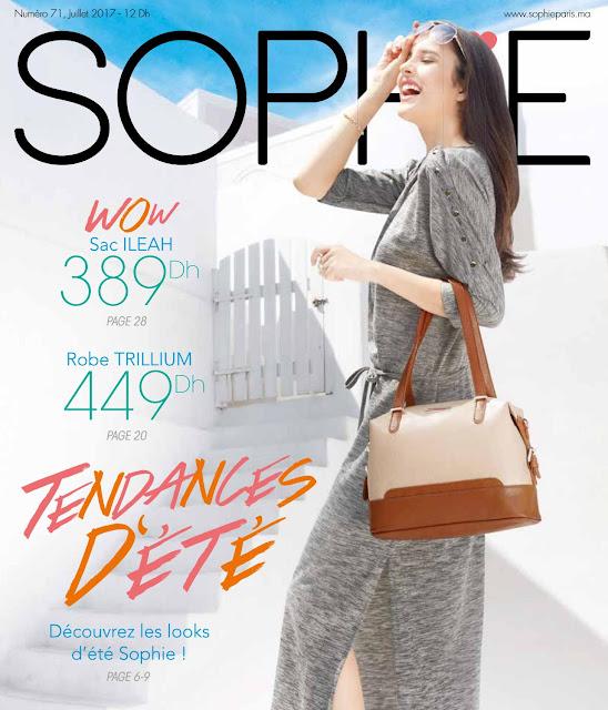 catalogue sophie paris maroc juillet 2017