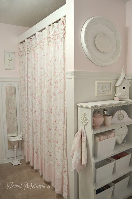 Shabby chic on friday l 39 armadio la gatta sul tetto for Stoffa da parati
