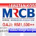 Job Vacancy at MRCB - Malaysian Resources Corporation Berhad
