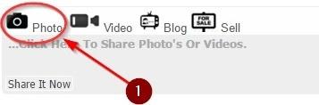 Camera ki image pe click kare