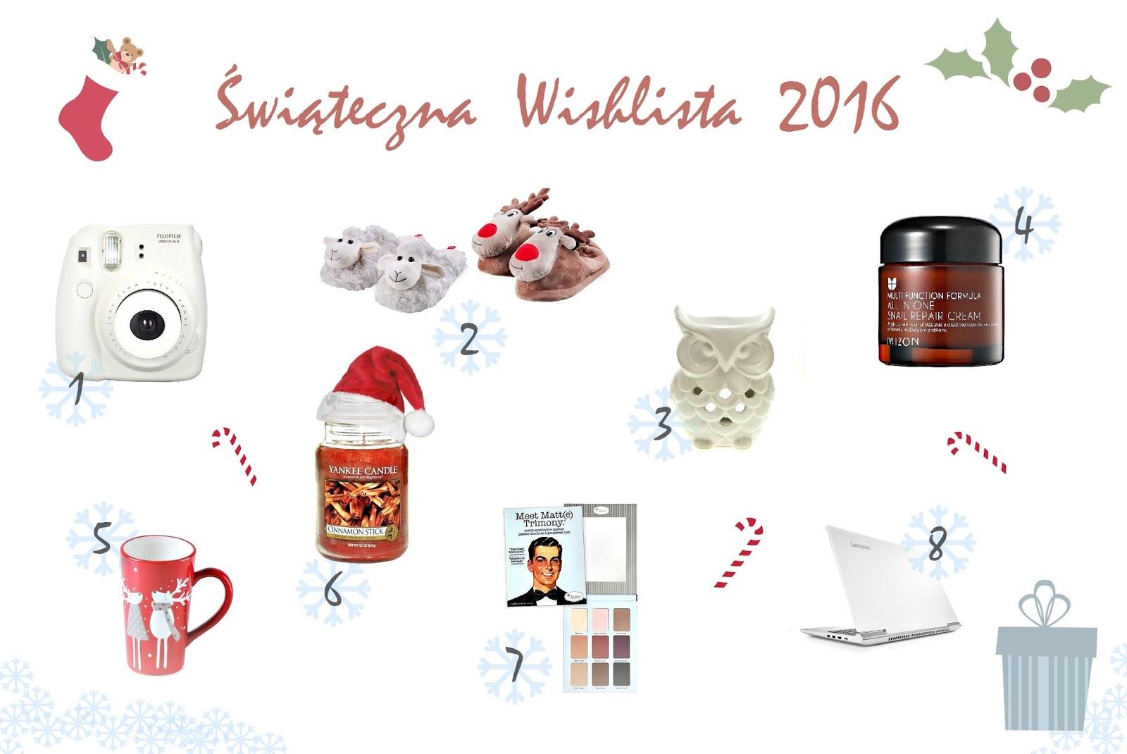 Świąteczna lista życzeń