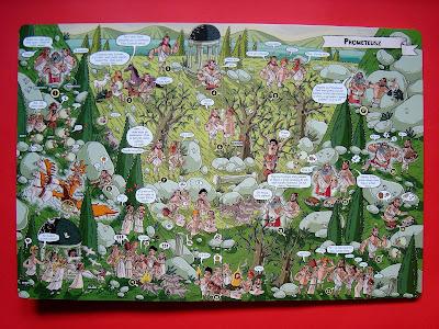 Mity greckie dla dzieci w obrazkach, komiks, Nikola Kucharska, Prometeusz