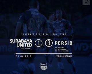 Persib Bandung vs Surabaya United 3-1
