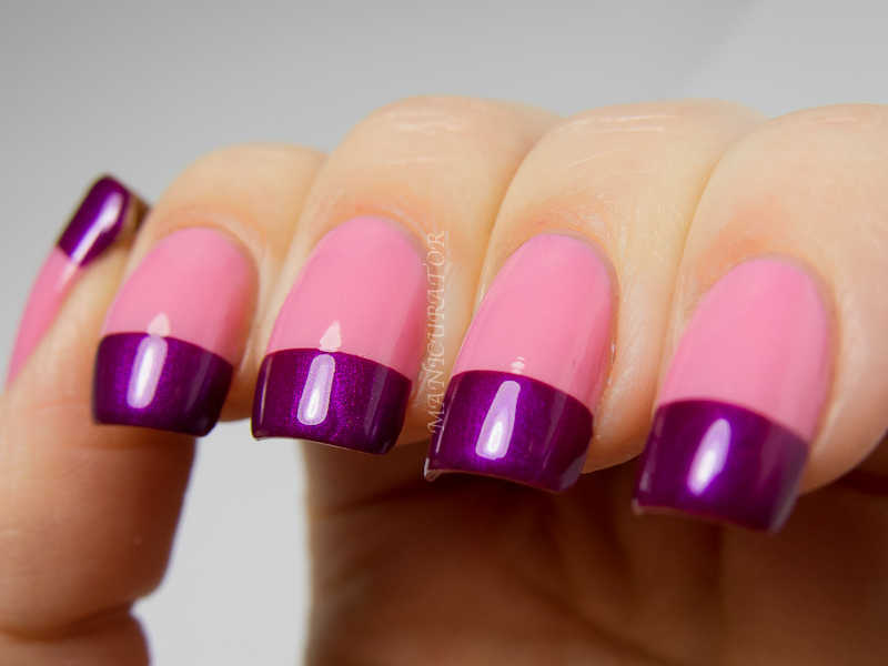 Colorful French Tip Nail Art With Nicole By Opi Selena Gomez