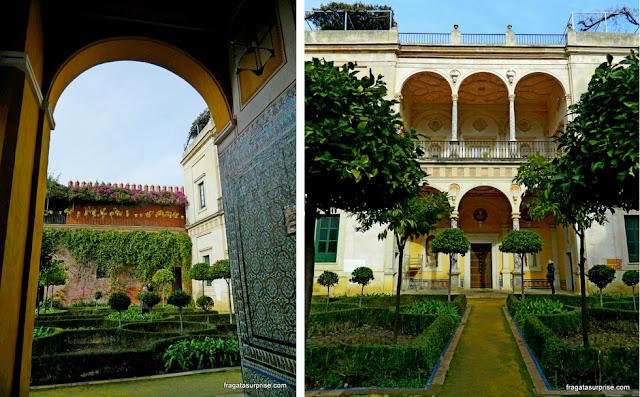 Jardins da Casa de Pilatos, Sevilha