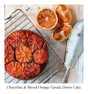 This upside down cake recipe is perfect for those who love the chocolate-orange flavour pairing.  Upside down cakes make the most of seasonal fruit, showcasing them to the max.  Although the recipe lists blood oranges, it would work equally well with navel oranges at other times of the year, meaning that you can enjoy this easy, pretty and delicious cake any time you want.