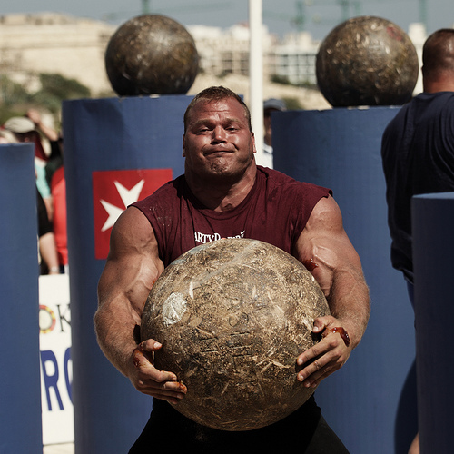 Secrets of the Fit: Power and Strength: The StrongmanDerek Poundstone Bench