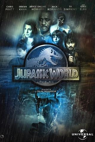 Jurassic World 2015 Dual Audio Hindi 400MB BluRay 480p