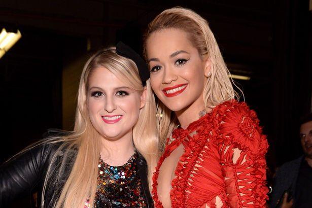 Meghan Trainor confirma que también escribió canciones para el próximo álbum de Rita Ora