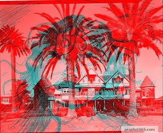3D Image of the ghost at Winchester House