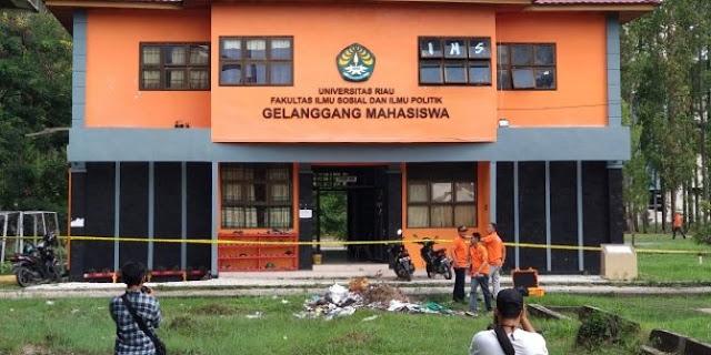 Ahli bikin bom mother of satan, Satu Alumni Universitas Riau tersangka dugaan teroris