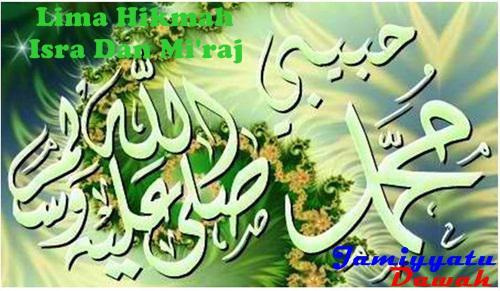 Contoh Teks Khutbah Jumat Hikmah Isra Mi'raj