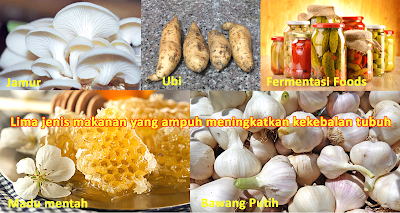 Lima jenis makanan yang ampuh