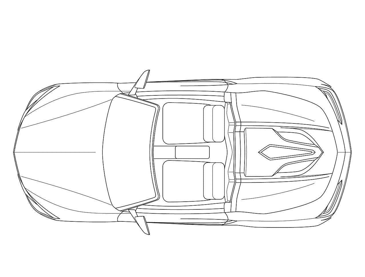 2014 acura nsx roadster sketch