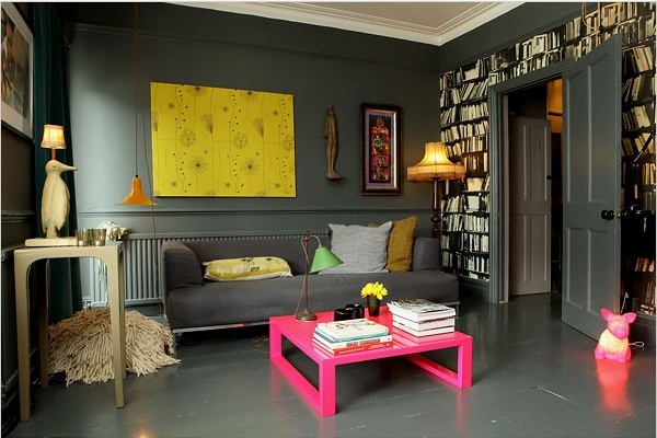 Grey Colors Work Wonder With Fuchsia Pink Limes And Yellow So Does Green White While Decorating Neon Make Most Of Those Complementary
