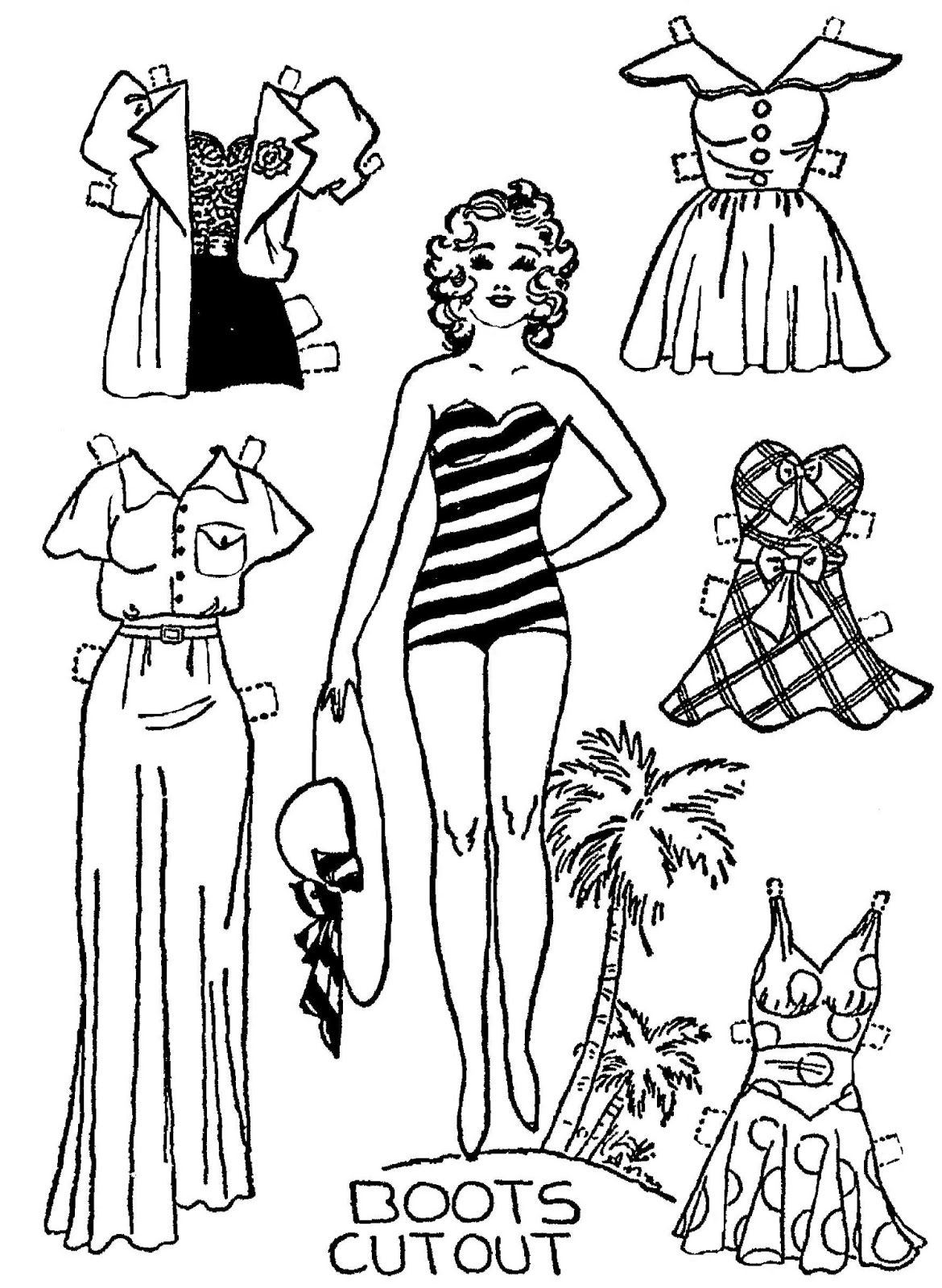 Mostly Paper Dolls Too!: Daily