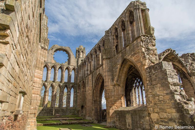 Elgin Cathedral Scottish Highlands Road Trip Itinerary