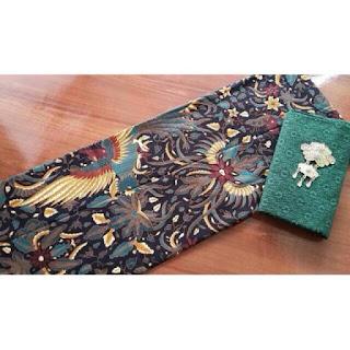 Kain Batik Primis dan Embos 72 hijau