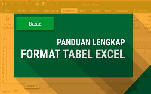 Membuat Tabel di Ms.Excel