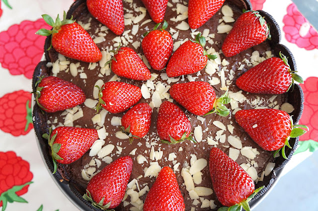 Oreo, Strawberry & Chocolate Tart