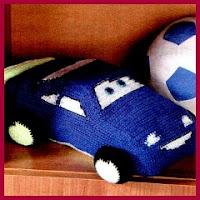Rayo coche amigurumi