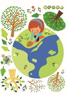 Memusnahkan tempat tinggal makhluk tak berdaya tanpa menyisakan satu pun geveducation:  Puisi Bumi untuk Si Kecil