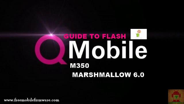 Guide To Flash QMobile M350 MT6580 Lollipop 5.1 Via Flashtool Tested Firmware