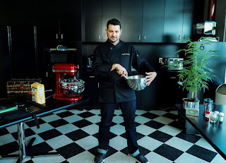 Jeff the 420 Chef, Author of the 420 Gourmet:The Elevated Art of Cannabis Cuisine