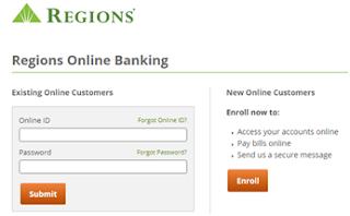 Regions Online Banking Login
