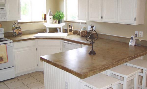 Kitchen Countertops Concrete: Concrete Kitchen Countertops