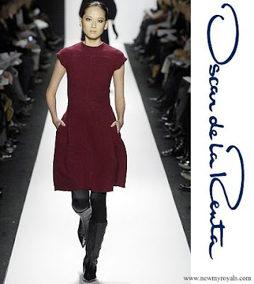 Queen Maxima wore Oscar de la Renta fall 2007 ready to wear