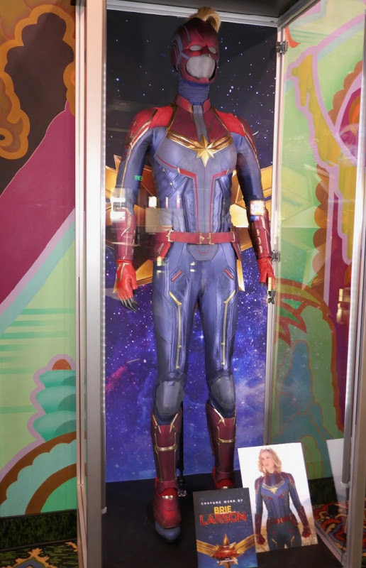 Brie Larson Captain Marvel movie costume