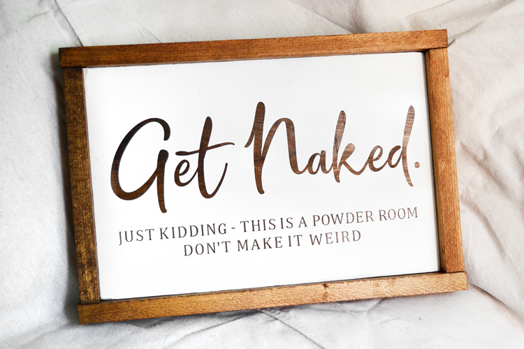 get naked wall sign final