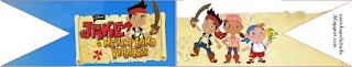 Mini Kit de Jake y los Piratas de Nunca Jamás para Imprimir Gratis.