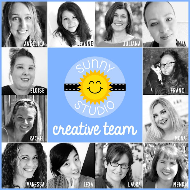 Sunny Studio Stamps: Introducing 2019 Creative Team with 5 New Team Members!