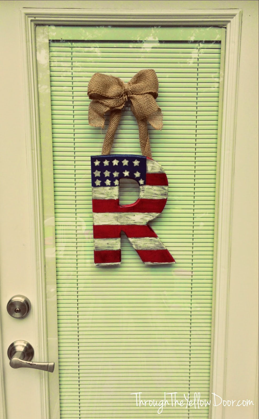 4th of July Front Door Decoration: DIY Project - Through ...