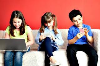 Technological devices problems children