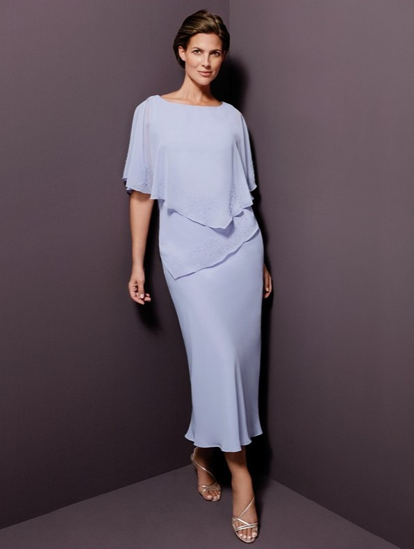 f55576bca8 Plus Size Mother Bride Dresses Tea Length | Fashion Gallery