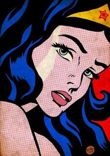 Wonder Woman Pop Art