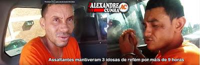 Secretaria de Segurança Pública apresenta acusados de assaltos e sequestro em Chapadinha.