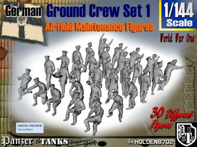 1-144 German Ground Crew Set 1 picture 1