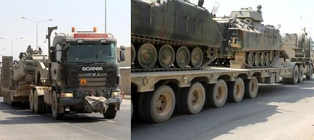 Τουρκικά Μέσα: «Η Τουρκία μεταφέρει 40 άρματα μάχης στον Έβρο» (ΦΩΤΟ-BINTEO)