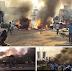 Check: Photos: Gabon Parliament set on fire after President Ali Bongo was declared winner