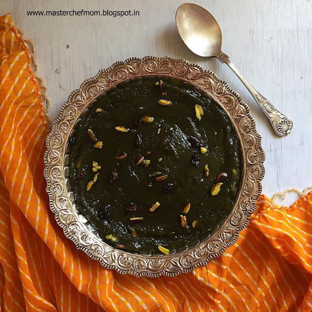 Rajasthani Hare Chane Ka Halwa