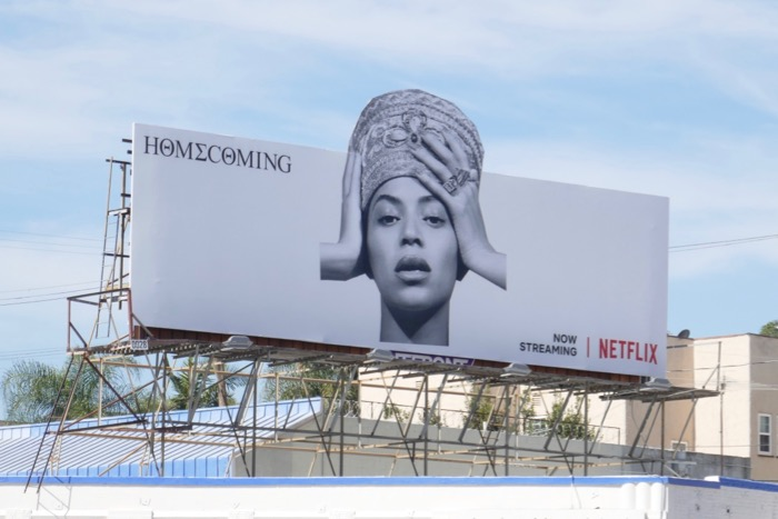 Beyonce Homecoming billboard
