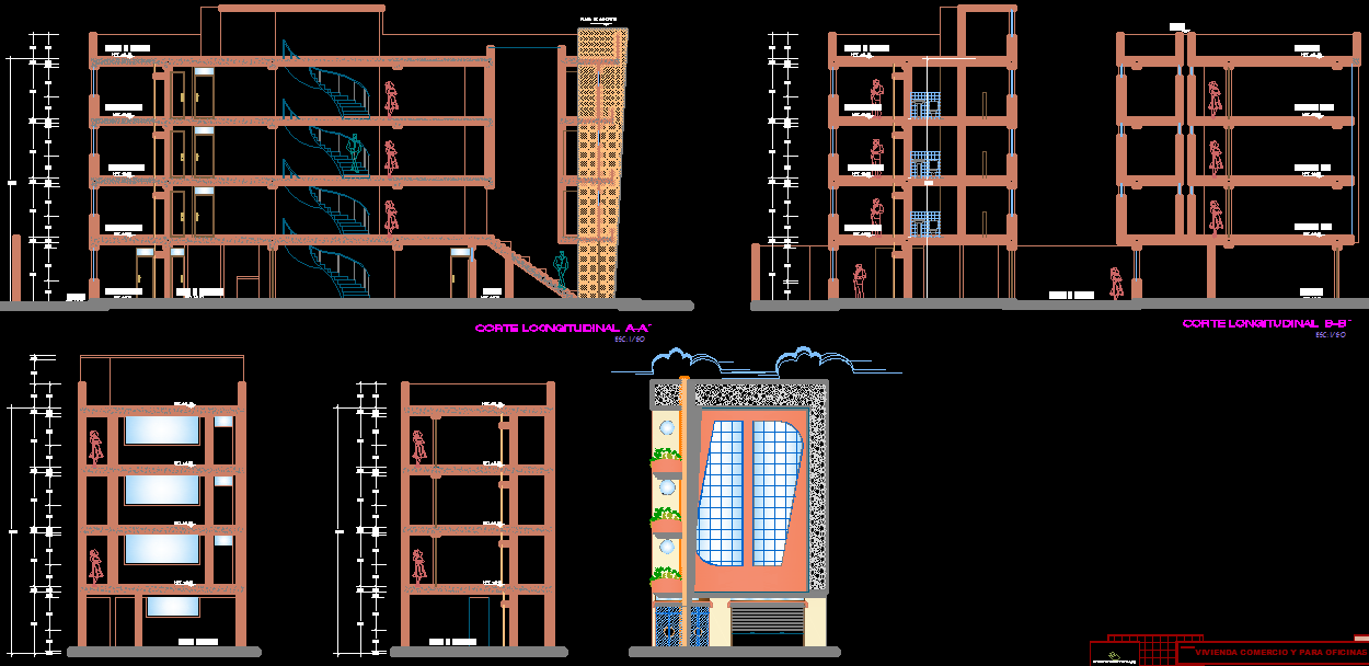 Commercial residential house plans on residential pole building floor plans, residential house window design, residential building design,
