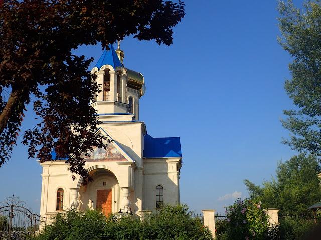 Cerkiew po mołdawskiej stronie