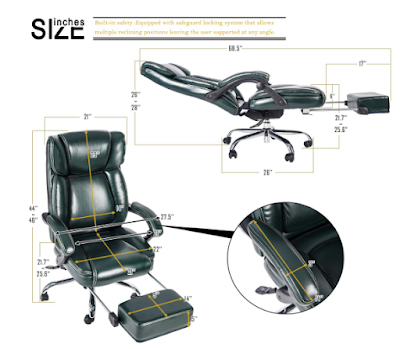 Merax Inno Series Executive Tall Back Napping Chair