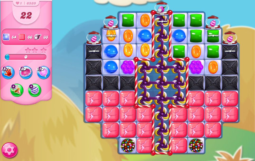 Candy Crush Saga level 6539