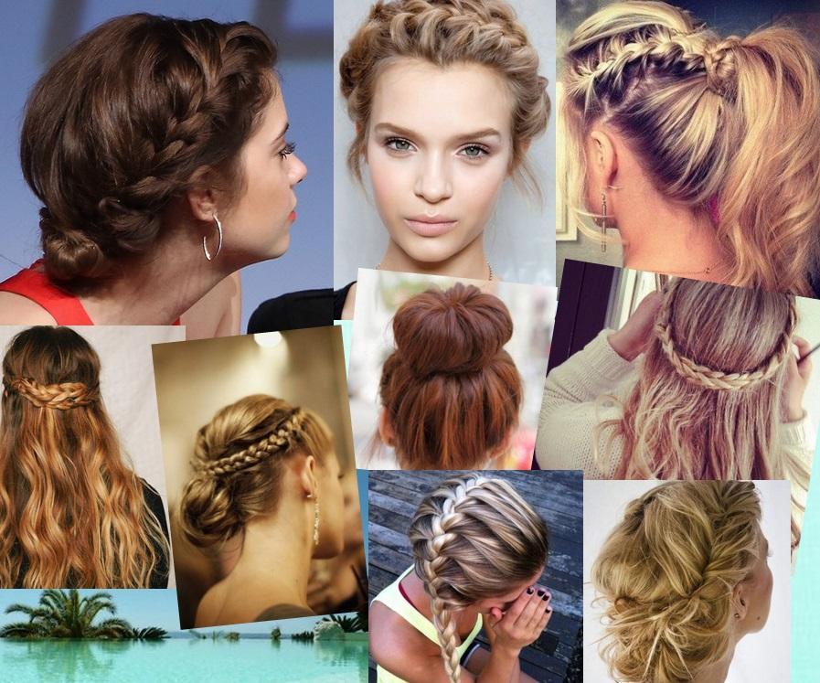 Resultado de imagen para peinados apretados collage